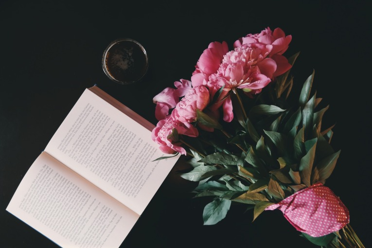 books-and-blooms