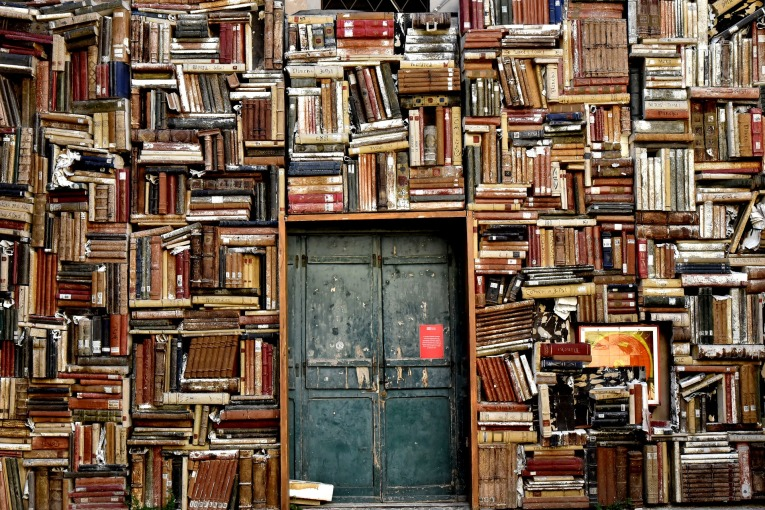 books-as-wall